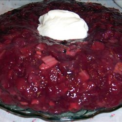 Cranberry Salad Mold recipe