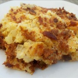 Easy  and Quick Cheese-Lover's Potato Bake