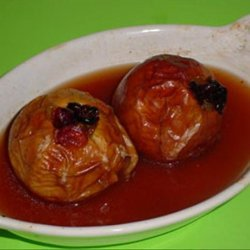 Baked Apples in Maple Syrup