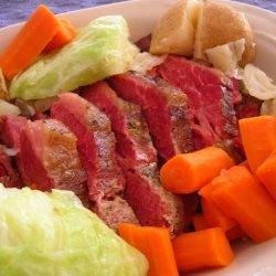Crock Pot Corned Beef & Cabbage