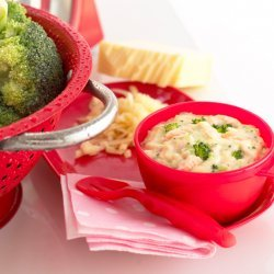 Broccoli in Cheese Sauce