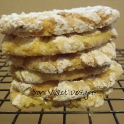 4 Ingredient Lemon Cookies