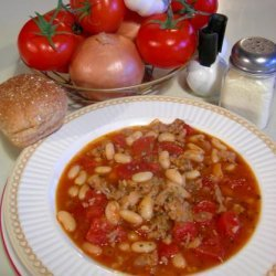 Cannellini and Sausage Soup