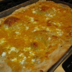 Sara's Garlic Pizza