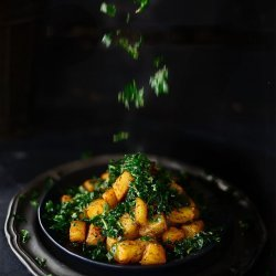 Spicy Spinach and Potatoes