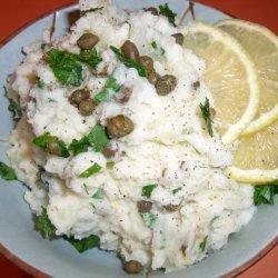 Martha Stewart's Lemon and Caper Mashed Potatoes