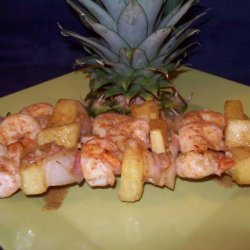 Bahama Shrimp Skewers