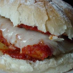 Chicken Mozzarella Sandwiches