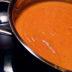 Roasted Red Pepper Coconut Soup
