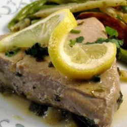 Fresh Tuna Steaks With Lemon recipe