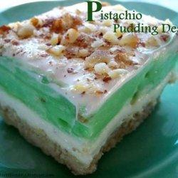 Pistachio Pudding Dessert