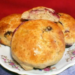 Jimmy Griffin's Perfect Raspberry and Raisin Irish Scone