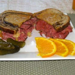 The Shawnee Marina Reuben Sandwich recipe
