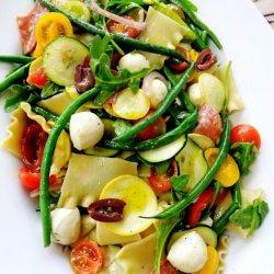 Italian Vegetable Pasta Salad