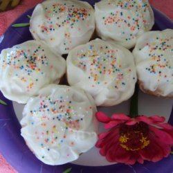 Lemon Cupcakes With Cream Cheese Icing
