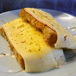 Spanish Style Tomato With Ham or Cheese Sandwich
