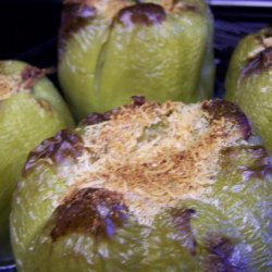 Emeril's Stuffed Bell Peppers or Sweet Banana Peppers