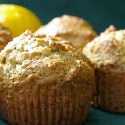 Lemon Anise Poppy Muffins (Diabetic)
