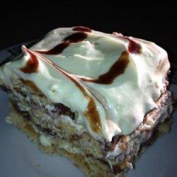 No Bake Pudding Graham Cracker Cake