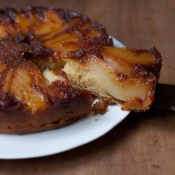 Caramel Pear Pudding