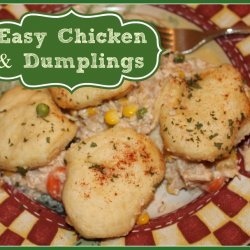 Quick and Easy Chicken and Dumplings