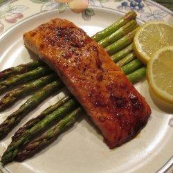 Bourbon - Glazed Salmon