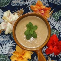 Low-Fat Cream of Celery Soup With Garlic, Curry & Herbs recipe