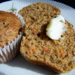 Moist Carrot Cake Muffins