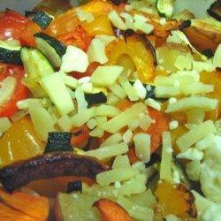 Roasted Veggie and Bocconcini Salad