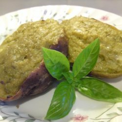Basil Pesto Twice-Baked Potatoes
