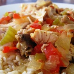 Crock Pot Chicken Creole (Almost Ww Core)