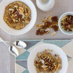 Quinoa Rice Breakfast (Gluten Free, Dairy Free)