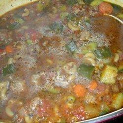 Italian Sausage and Eggplant Soup