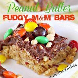 Peanut Butter Fudgy Bars