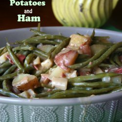 Ham, Potatoes, and Green Beans