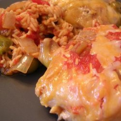 Oven-Baked Spanish Chicken With Rice
