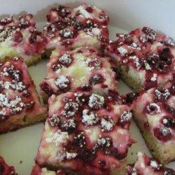 Fresh Raspberry Cheesecake Bars
