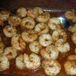 Hawaiin Baked Spicy Shrimp