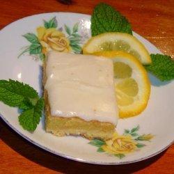 Megan's (Hush Hush) Lemon Bars recipe