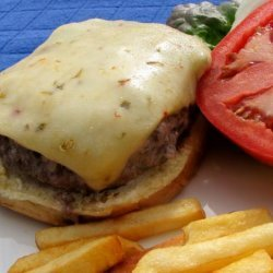 So Simple Onion Barbecued Burgers