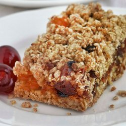 French Cherry Crumble