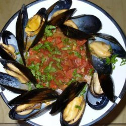 Steamed Clams With Chorizo and Tomatoes