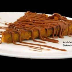 Nutella Pumpkin Pie