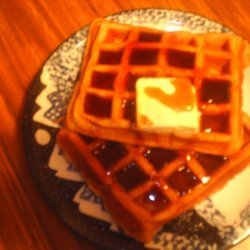 Dads Spectacular Waffles