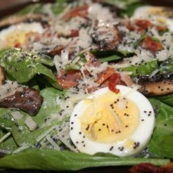 Blue Note Cafe's Spinach Salad