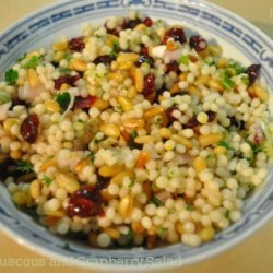 Israeli Couscous and Cranberry Salad