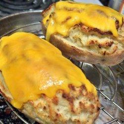 Roasted Garlic Twice Baked Potato