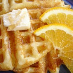 Bisquick Orange Waffles