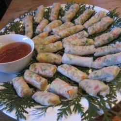 Crunchy Veggie Rice Paper Wraps recipe