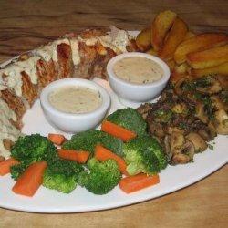 Garlic-Roasted Pork With Tarragon Sauce